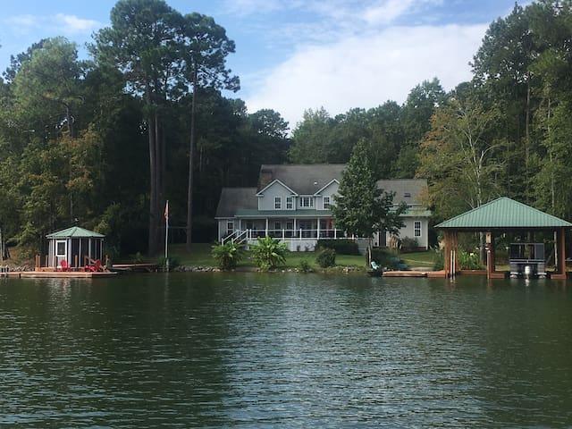 Camp Bernie on Pace's Peninsula, Lake Martin