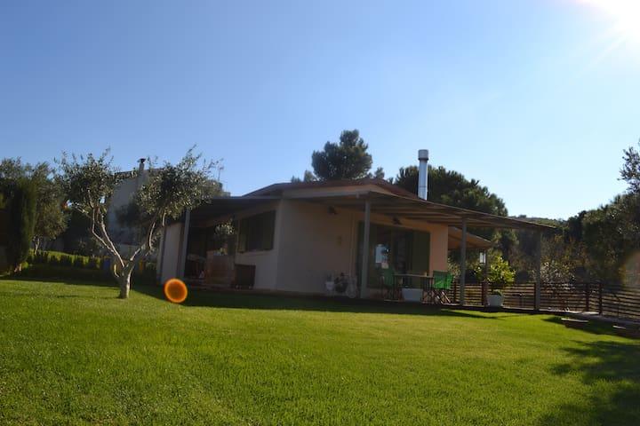 Wood and Earth house - Anavyssos - Huis