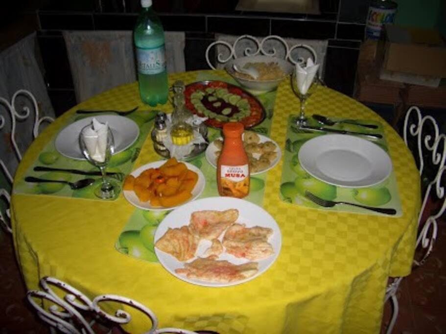 Cenas de la casa