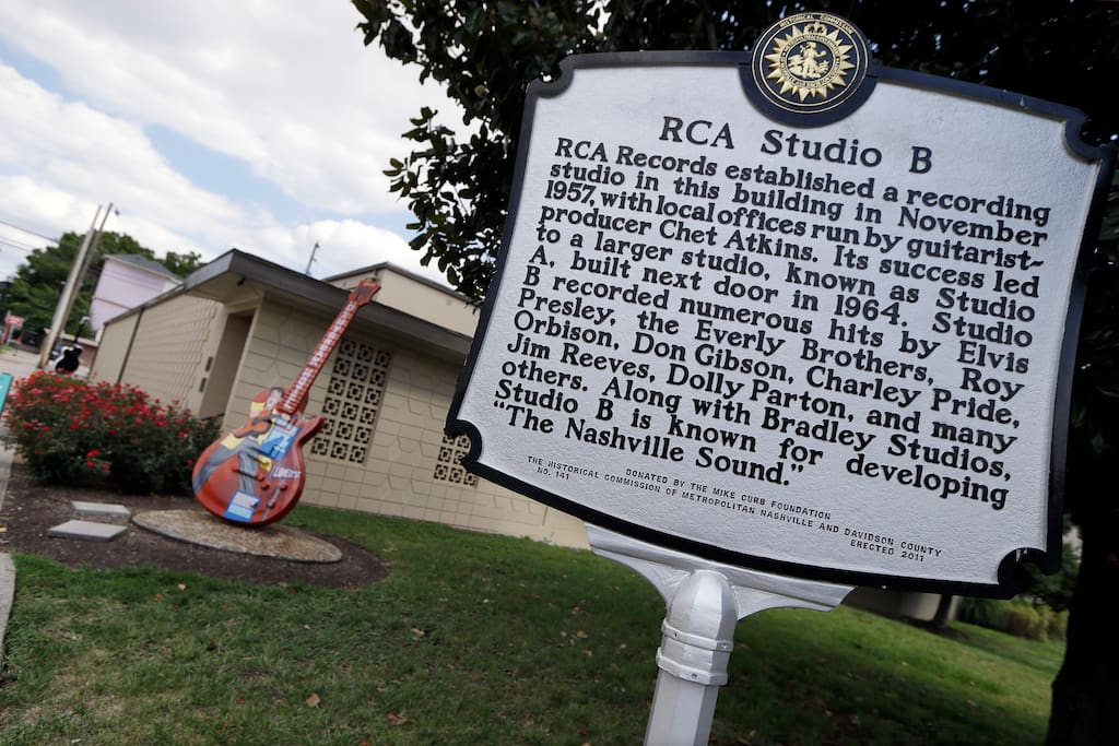 RCA Studio B (one of Nashville's most famous recording studios) is just a few blocks away!