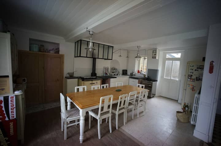 Maison de famille en Normandie