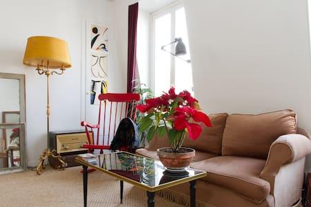 Charming & Luminous flat- trendy neighborhood - Paris - Wohnung