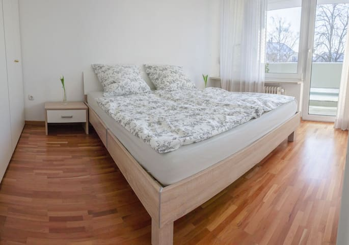 Equipped modern 2-room apartment at Center of City