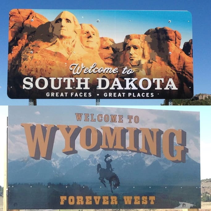 We are located in South Dakota just 1.8 miles East of the Wyoming border along Hwy 16.