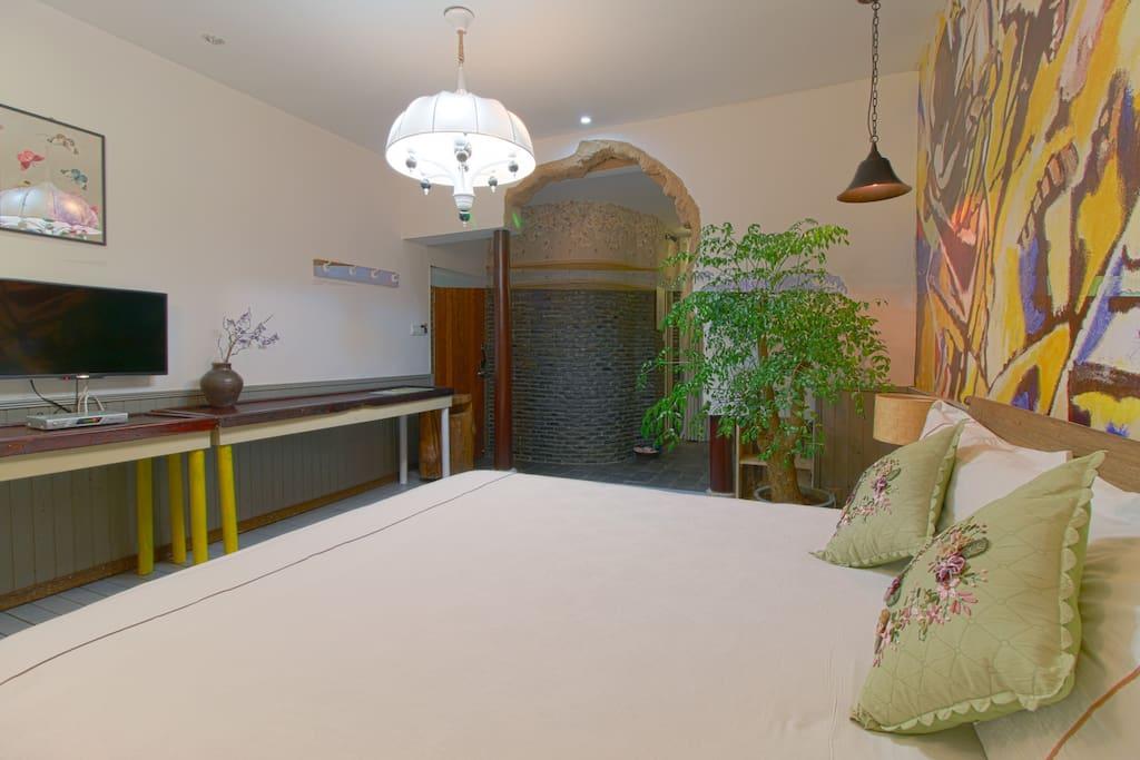 立雪唯美大床房