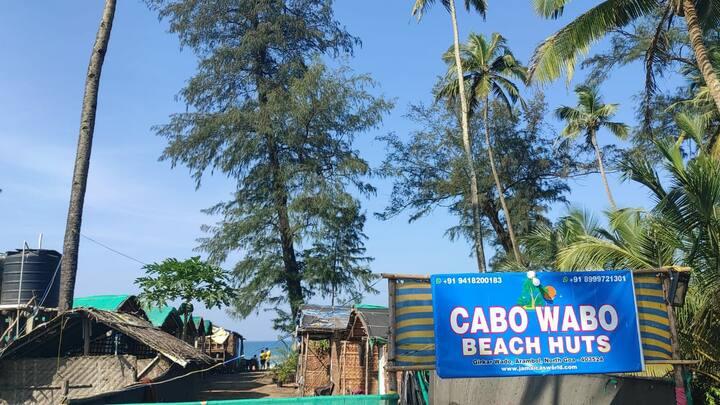 Cabo Wabo beach huts