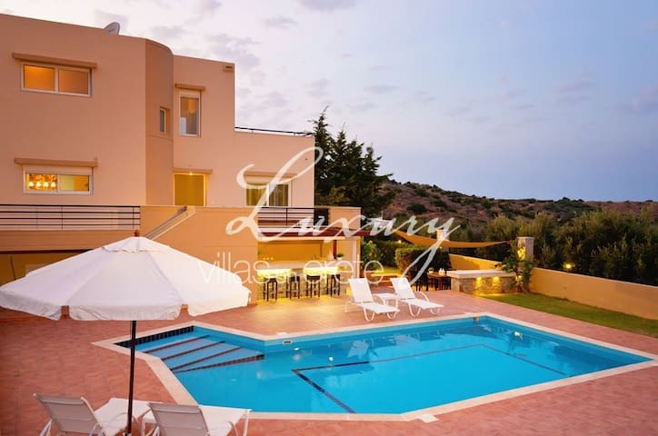 Lovely 3-bedroom Villa Poseidon - Milatos