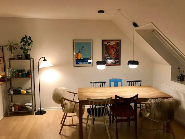 63 sqm cozy appartment with terrace facing south