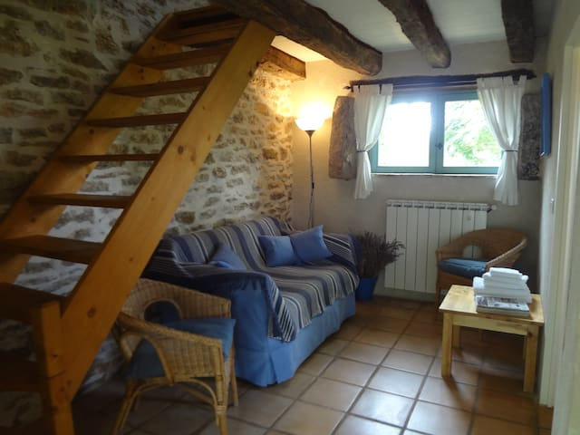 """Les Oliviers """"Cosy"""" chambre independant.B&B."""