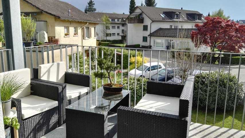 Charming appartement in a quiet location - Rüti - Daire
