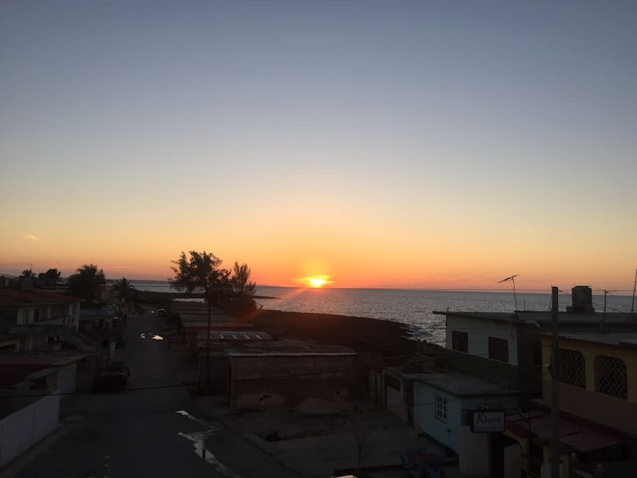Experience fantastic sunsets from own private terrace