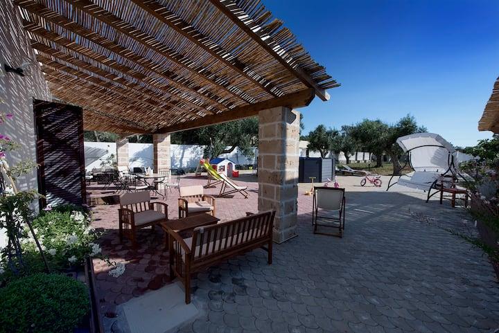 Villa Silvana - camera doppia (7 km da Gallipoli)
