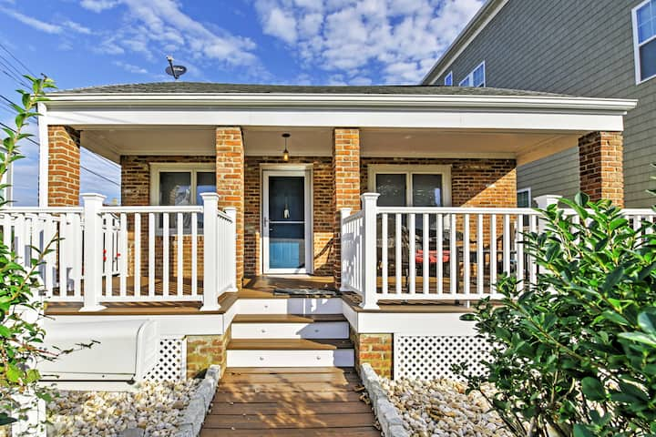 NEW! Seaside Home - 0.8 Miles to Long Branch Beach