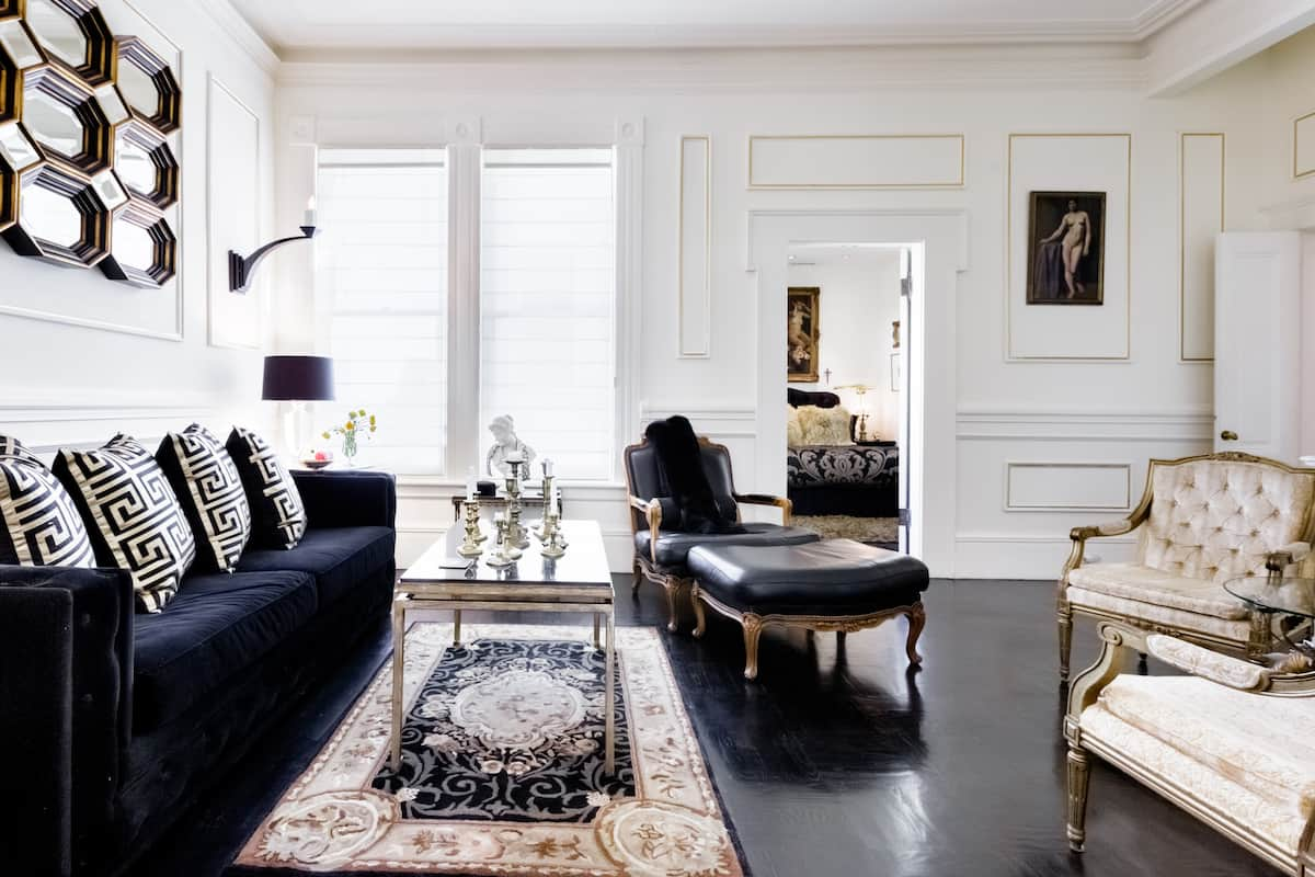 Park Strolls at a Grand, French-Inspired Studio