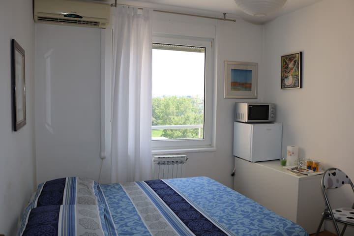 Room Vukovarska Zagreb. Near bus station.
