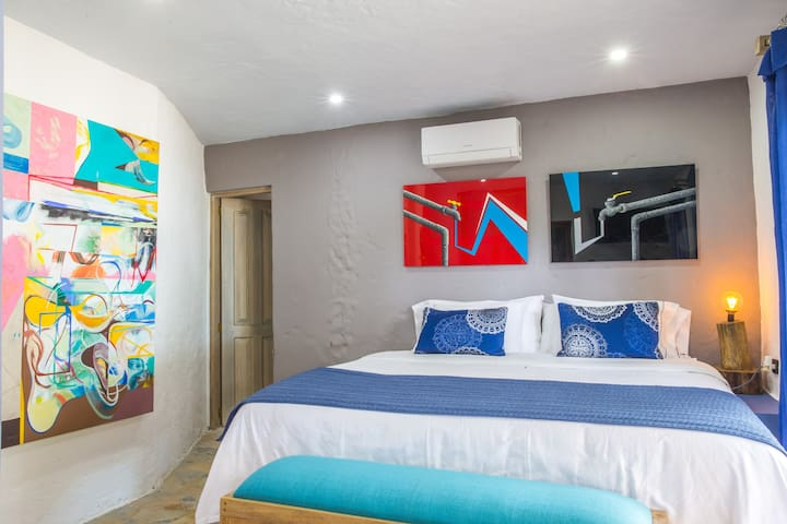 Blue Apple Beach House - Guanabana Hotel Room - Cartagena - Dům