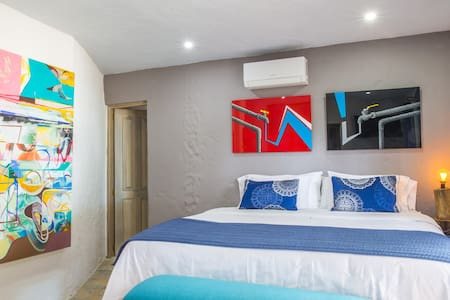 Blue Apple Beach House - Guanabana Hotel Room - Cartagena - Casa