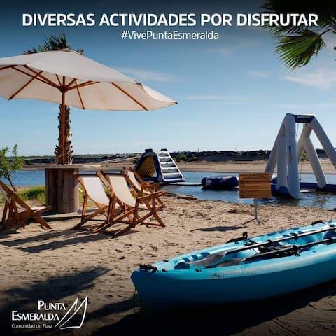 Departamento en isla Cortez Altata Punta Esmeralda