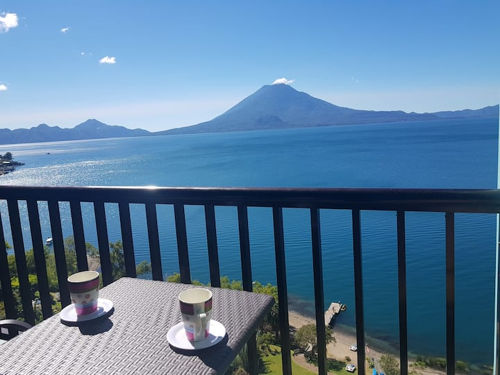 Sky view Atitlan lake suites, free breakfast