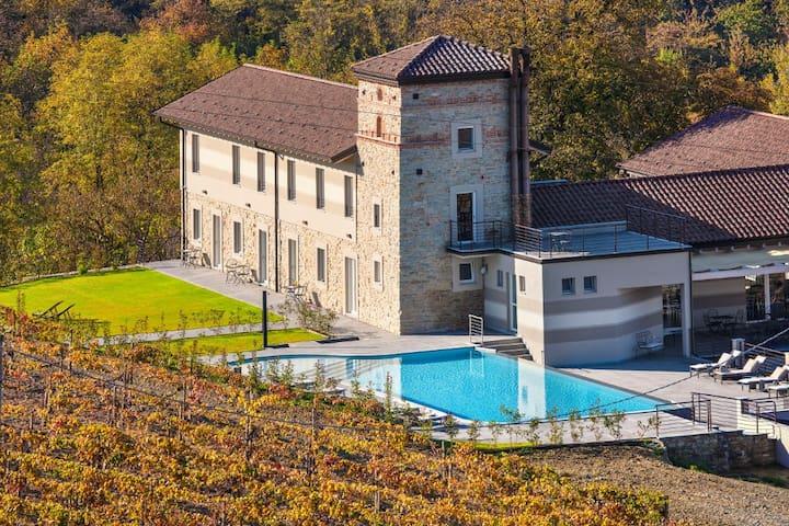 Grande Villa con SPA a Alessandria