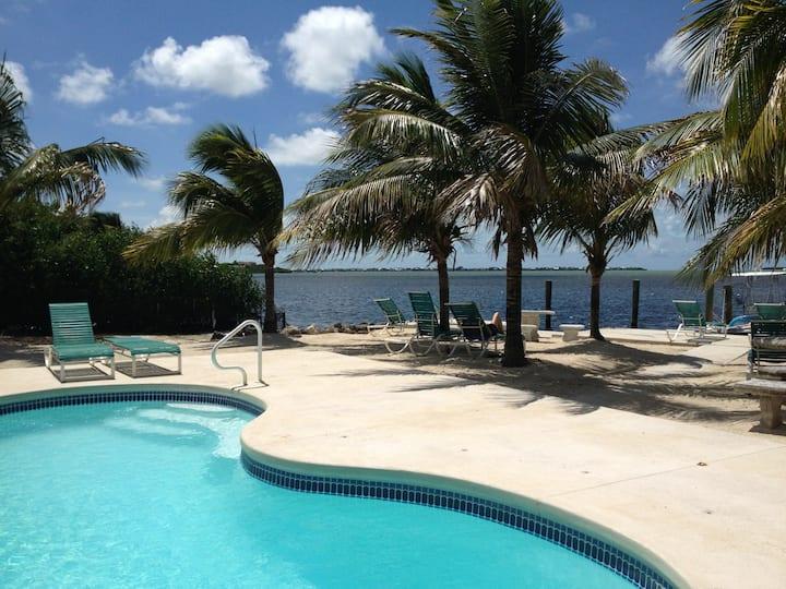 Florida Keys Cottage in Oceanfront Property