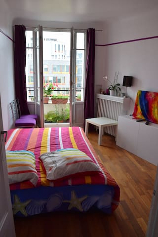 Appartement au porte de paris - Le Pré-Saint-Gervais - Byt