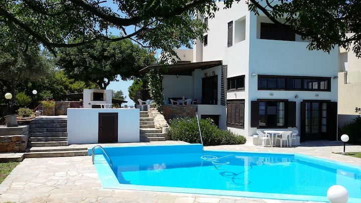 "Villa ""Majestic View""-200m to Limanakia beaches"