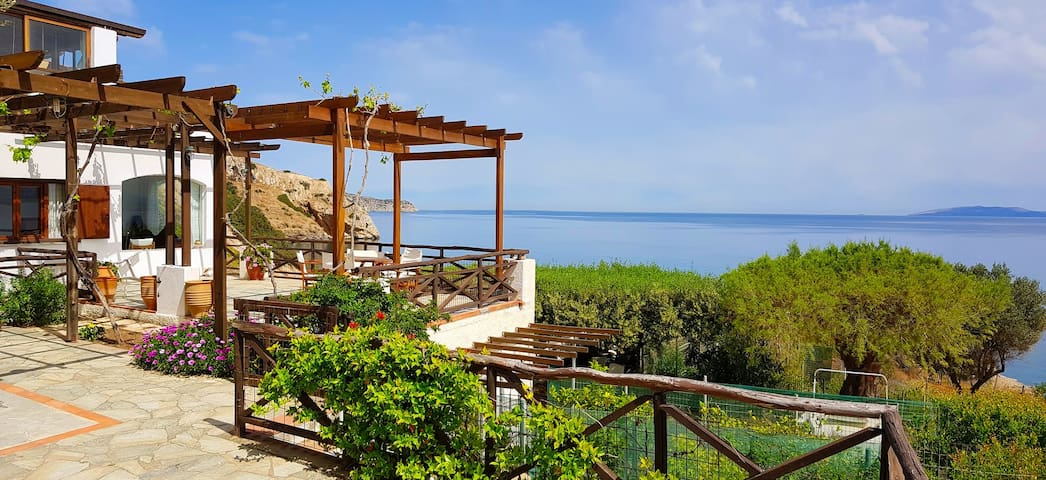 Villa Kastro -  Seafront Villa with Amazing view