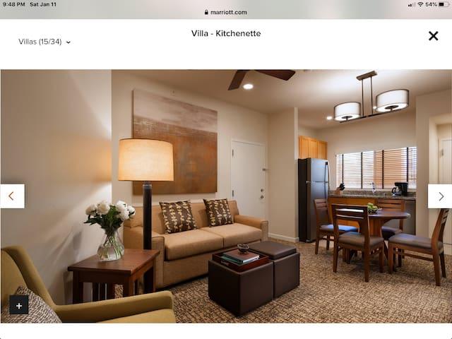STAGE COACH 4/23,24,25   1 BR Villa @Westin Resort