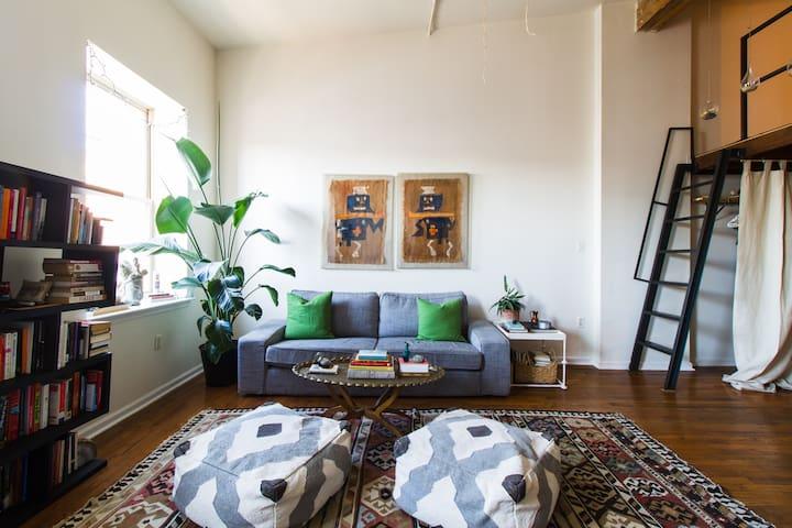 Lovely Loft Apartment - Philadelphie - Loft