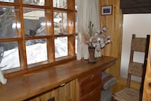 Pieza Nueva with bathroom in La Parva. Ski in/out