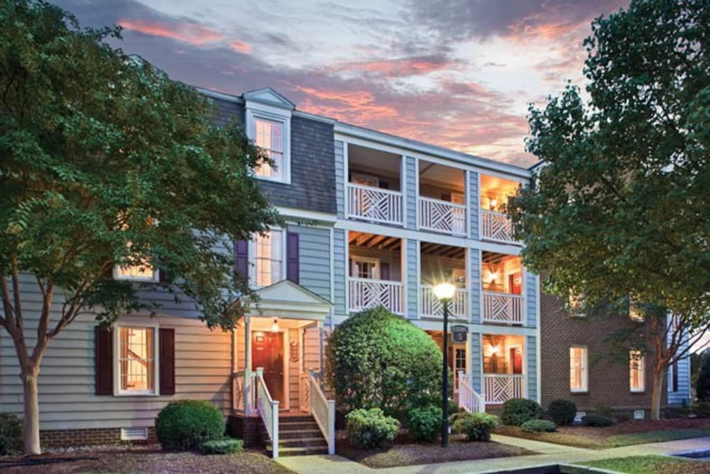 Wyndham Kingsgate 1 Bedroom Serviced Apartments For Rent In Williamsburg Virginia United