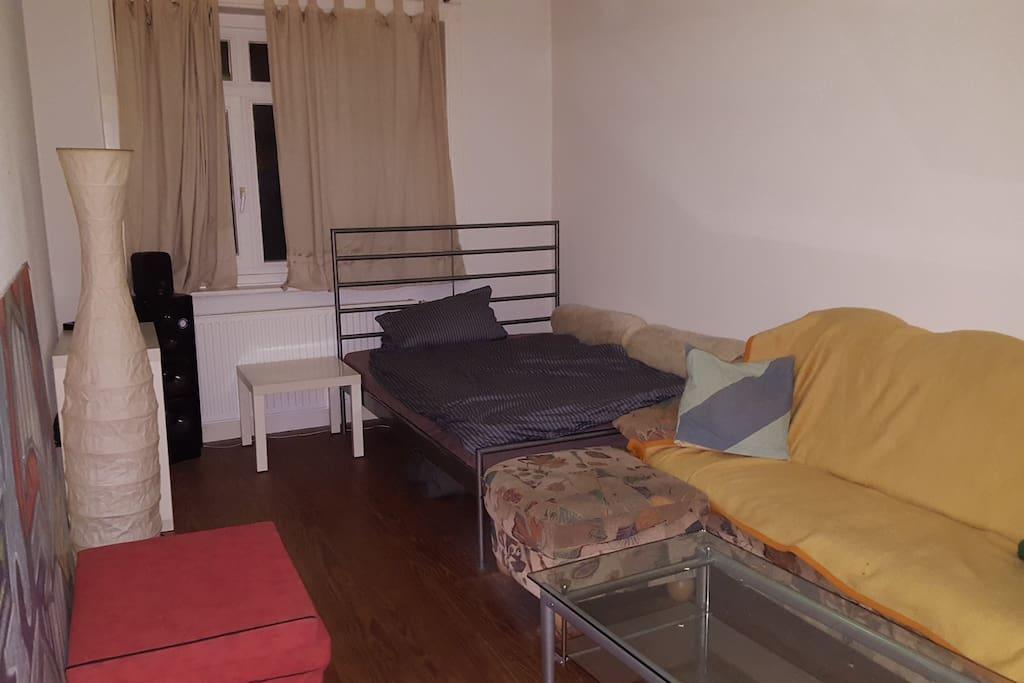 Zimmer von meinem MB, immer Verfügbar 15qm²