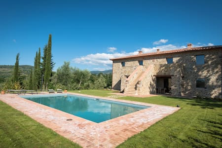 Stunning villa in a secular park with private pool - Montegiovi - Villa