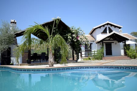 Country house Jacaranda.  Garden and swimming pool