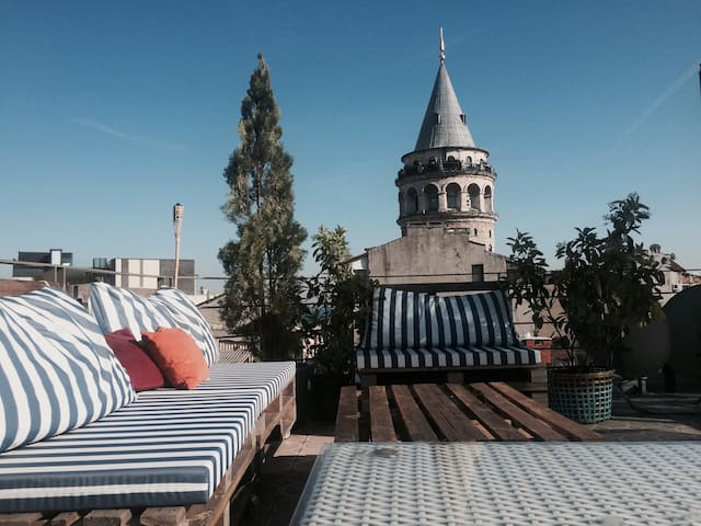 Perfect Location next to Galata Tower 3 - Beyoğlu - Apartament
