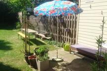 Gezellig huisje met tuin in centrum