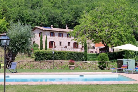 Wonderful villa with private pool - Serrapetrona - Villa