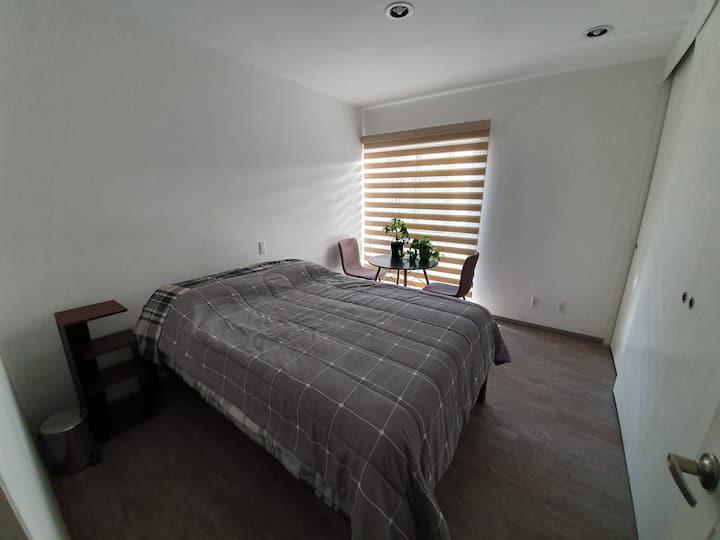 Cuarto tranquilo y comodo/ Comfortable quiet Room