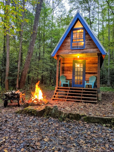 Tiny House Glamping @ Happy Valley