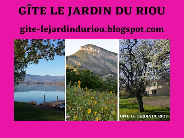 Le Jardin du Riou, entre Provence, Lac et Montagne