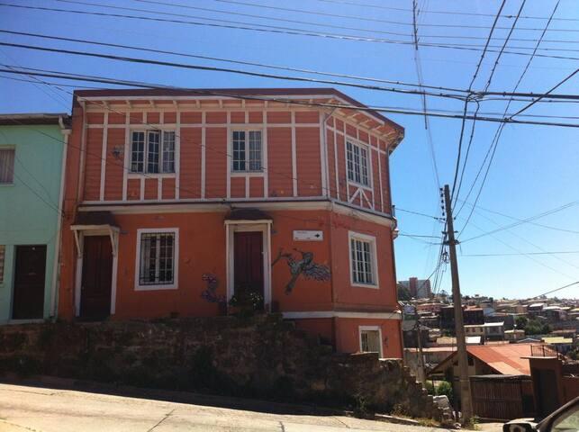 Casa Patrimonial, 1 piezas, 2 camas, 2 pasajeros.