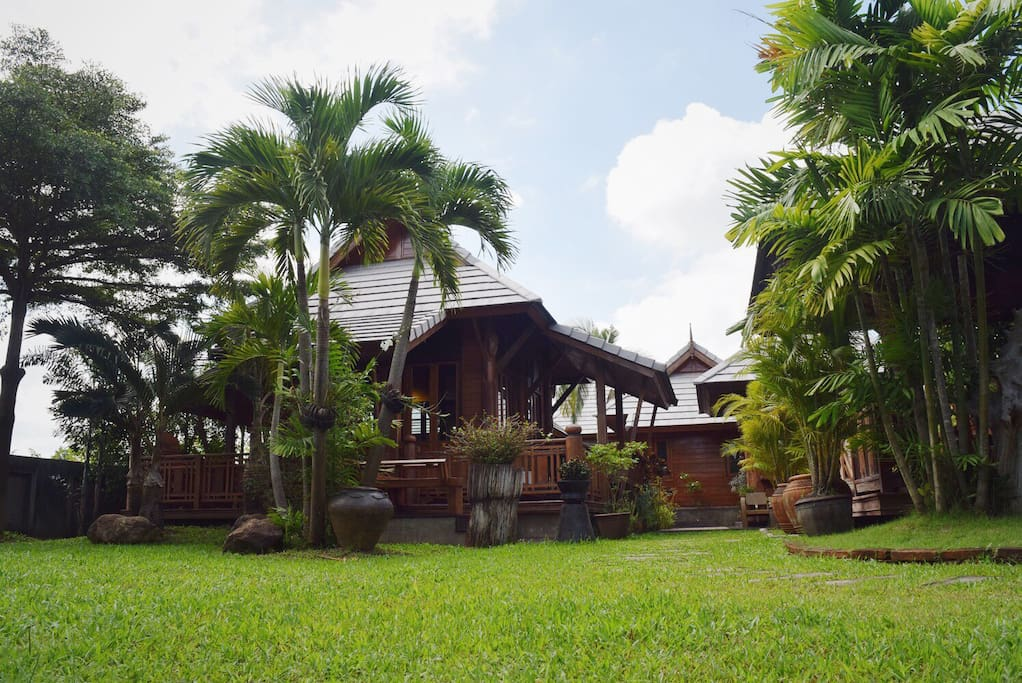 """Welcome to """"Baan Kern Homestay"""", the comfy thai-style home"""