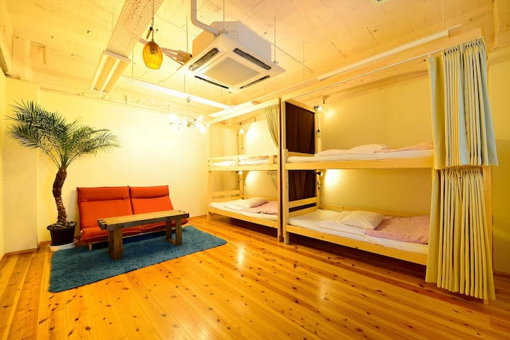 best private room in Osaka (maximum 6 people)