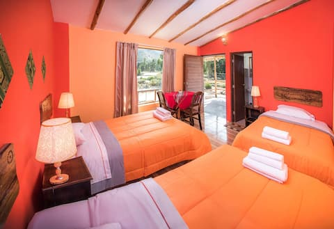 Cosy Triple room in Yanque @LeFoyerColca