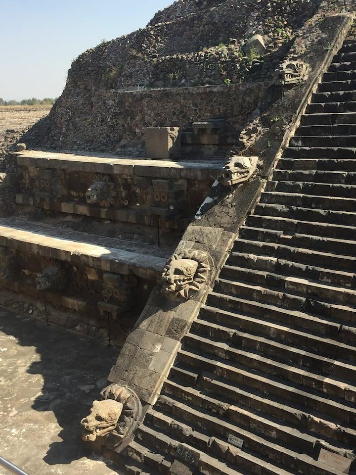 Agriculture temple of Quetzalcoatl