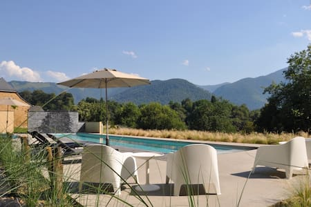 Luxury villa with heated pool far from everything - Saint-Pé-de-Bigorre - 别墅
