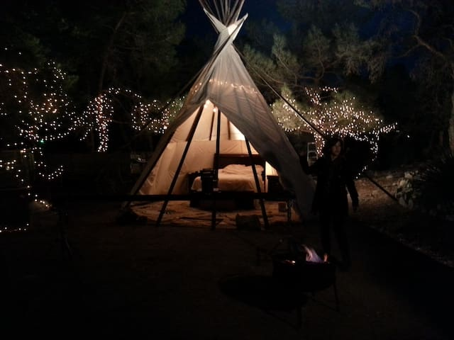 Tipi in The Pines @ WildSageRanch :: - Las Vegas - Tipi