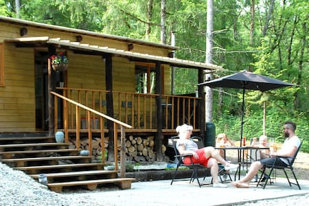 Chalet en bois, Wood cabin near to amenities. - Argenton-sur-Creuse - Alpstuga