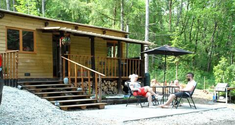 Chalet en bois, Wood cabin - Argenton sur Creuse